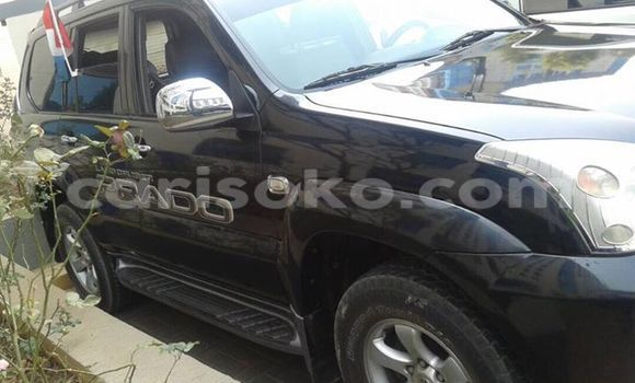 Buy Used Toyota Land Cruiser Prado Black Car in Gicumbi in Rwanda