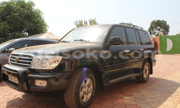 Acheter Occasion Voiture Toyota Land Cruiser Noir à Kigali au Rwanda