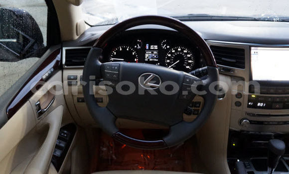 Buy Used Lexus LX Black Car in Kigali in Rwanda