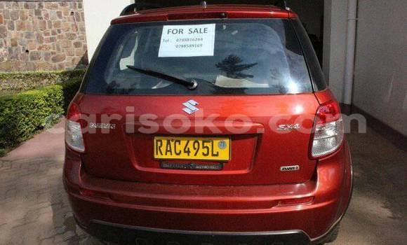 Buy Used Suzuki Alto Red Car in Kigali in Rwanda