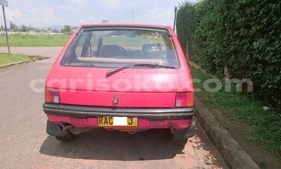 Acheter Occasion Voiture Peugeot 206 Rouge à Kigali au Rwanda