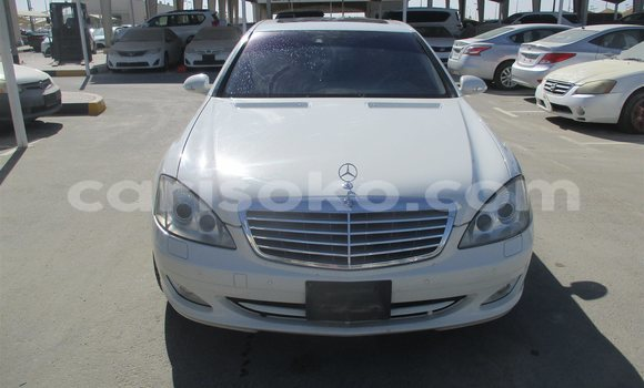 Buy Used Mercedes-Benz S–Class White Car in Kigali in Rwanda