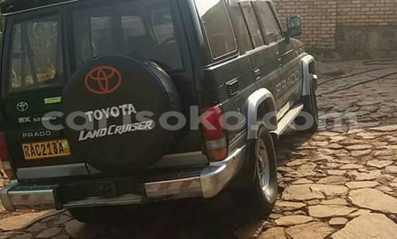 Buy Used Toyota Prado Black Car in Kigali in Rwanda