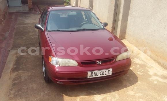 Acheter Occasion Voiture Toyota Corolla Rouge à Kigali au Rwanda