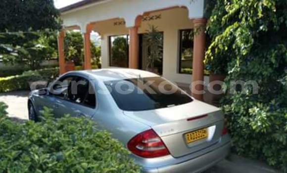 Buy Used Mercedes-Benz E–Class Silver Car in Kigali in Rwanda