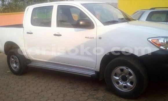 Acheter Occasions Voiture Toyota Hilux Blanc à Kigali, Rwanda