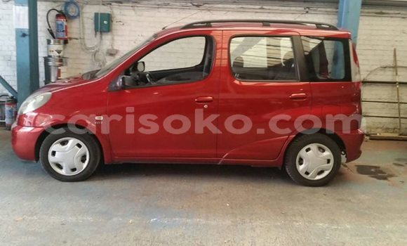 Buy Used Toyota Verso Red Car in Kigali in Rwanda