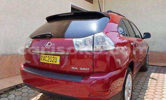 Acheter Occasion Voiture Lexus RX 350 Rouge à Kigali au Rwanda