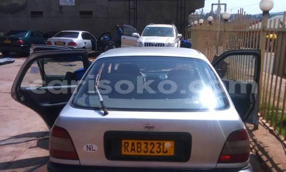 Buy Used Nissan Sunny Silver Car in Kigali in Rwanda