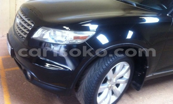 Buy Used Infiniti FX–Series Black Car in Kigali in Rwanda
