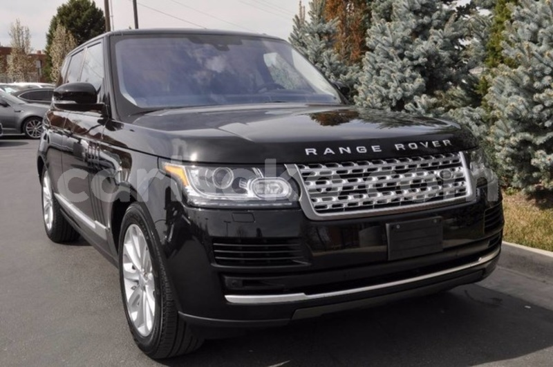 acheter occasion voiture land rover range rover noir. Black Bedroom Furniture Sets. Home Design Ideas