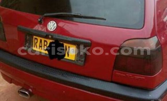 Buy Used Volkswagen Golf Red Car in Kigali in Rwanda