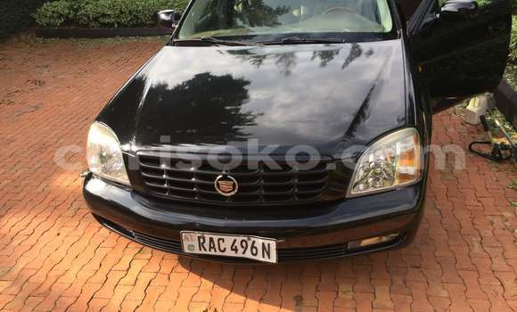 Buy Used Cadillac SRX Black Car in Kigali in Rwanda
