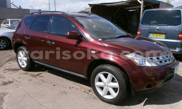 Buy Used Nissan Murano Red Car in Gasarenda in Rwanda