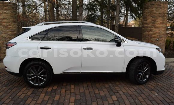 Buy Used Lexus RX 350 White Car in Gasarenda in Rwanda