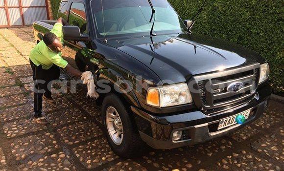 Buy Used Ford Ranger Black Car in Kigali in Rwanda