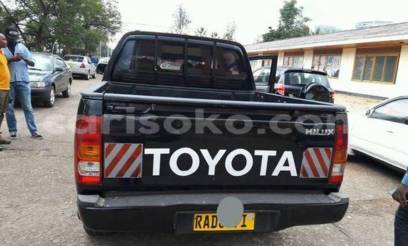 Buy Used Toyota Pickup Black Car in Kigali in Rwanda