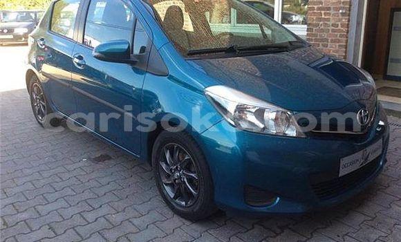 Buy Used Toyota Yaris Blue Car in Kigali in Rwanda