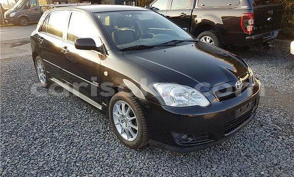 Buy Used Toyota Corolla Black Car in Kigali in Rwanda