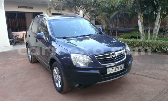Acheter Occasion Voiture Opel Astra Noir à Kigali au Rwanda