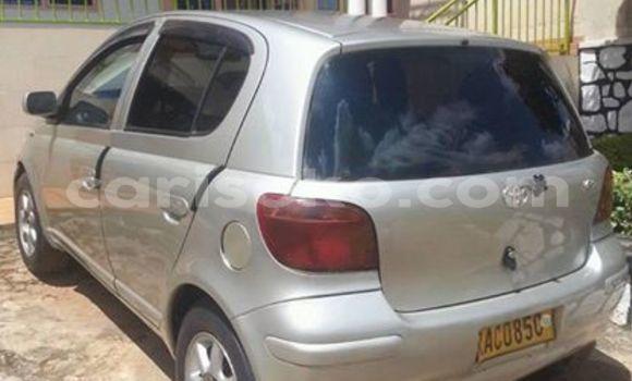 Buy Used Toyota Vitz Silver Car in Kigali in Rwanda