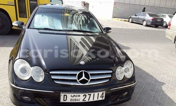 Buy Used Mercedes-Benz CLK–Class Black Car in Gicumbi in Rwanda