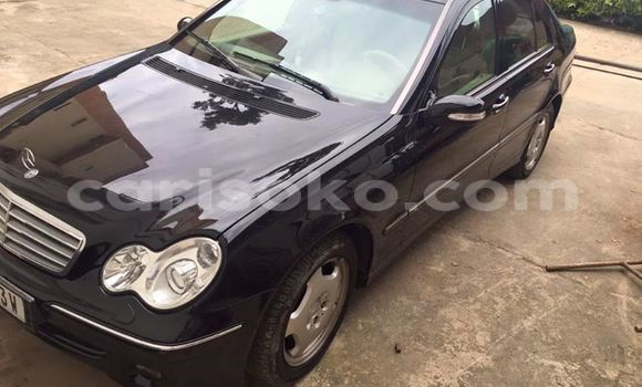 Buy Used Mercedes‒Benz C–Class Black Car in Kigali in Rwanda
