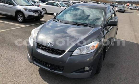 Buy Used Toyota Matrix Black Car in Kigali in Rwanda