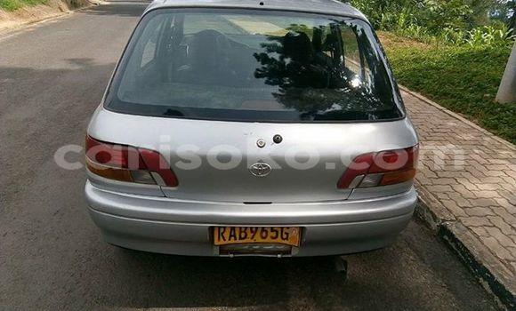 Buy Used Toyota Starlet Silver Car in Kigali in Rwanda