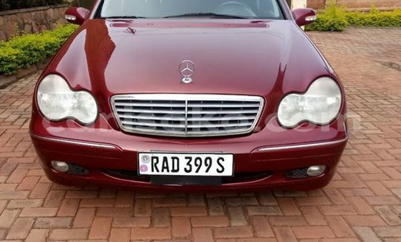 Buy Used Mercedes‒Benz C–Class Red Car in Kigali in Rwanda