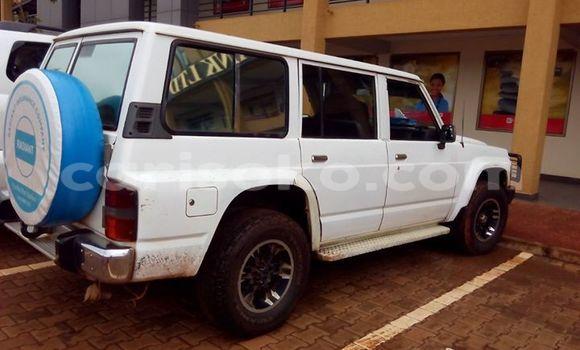 Buy Used Nissan Patrol White Car in Kigali in Rwanda