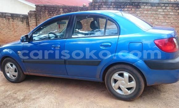Buy Used Kia Pride Blue Car in Kigali in Rwanda