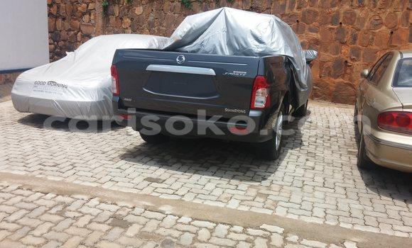 Buy New SsangYong Musso Black Car in Kigali in Rwanda