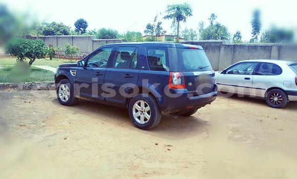 Buy Used Land Rover Freelander Blue Car in Kigali in Rwanda
