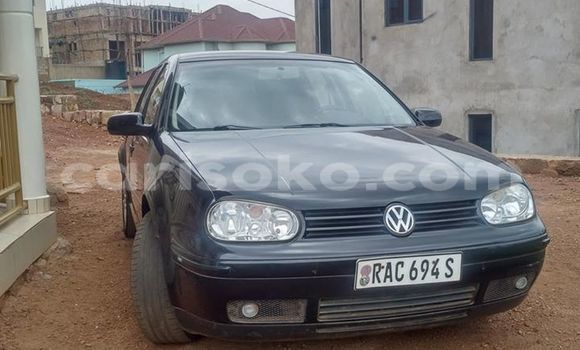 Buy Used Volkswagen Golf Black Car in Kigali in Rwanda